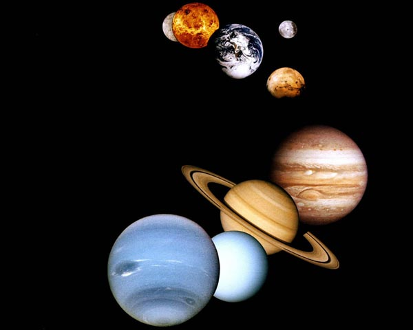 NIGHT SKY~THE PLANETS